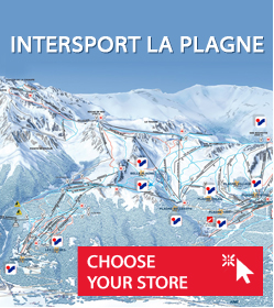 Ski rental La Plagne Intersport