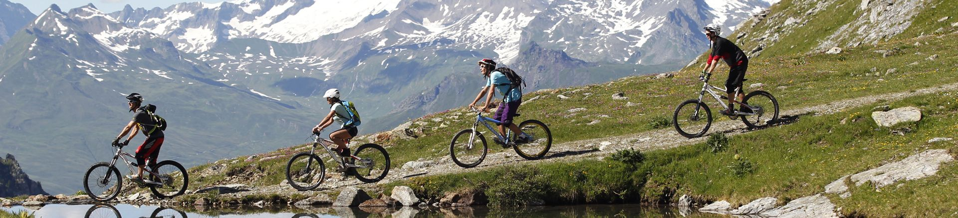 Summer activities in La Plagne Montalbert